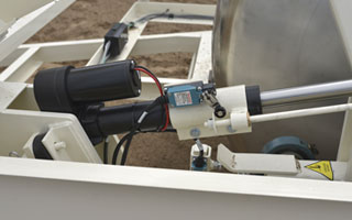 Falcon Automated Soil Samplier drum lift